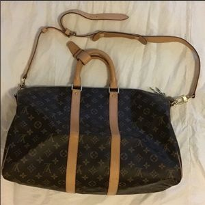 Authentic Louis Vuitton Keepall 50 duffle MB1016.